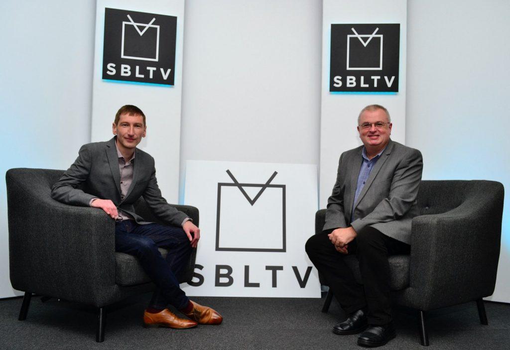 Chris Pritchard and Carl Jones of Shropshire Business Live TV